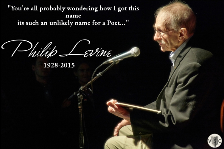 Learning from Philip Levine on – What Work Is